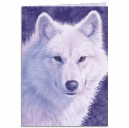 Graceful Wolves Greeting Card | Tree-Free Greetings®
